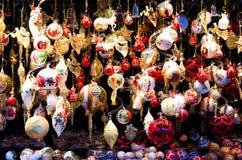 Christmas Market in Vienna Royalty Free Stock Photos
