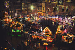 Christmas Market Royalty Free Stock Photo