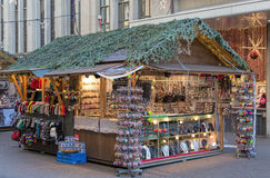 Christmas market in Zurich Royalty Free Stock Photos