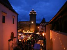 Christmas markets Royalty Free Stock Photos