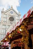 Christmas Markets in Florence Stock Photo