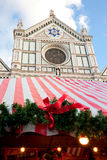 Christmas Markets in Florence Stock Photography