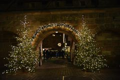 Christmas markets of Nurnberg, Germany. royalty free stock images