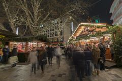 Christmas markt in Hannover Royalty Free Stock Photos