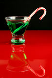 Christmas Martini Stock Photography