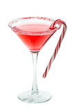 Christmas Martini Royalty Free Stock Image
