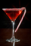 Christmas Martini Royalty Free Stock Photography