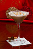 Christmas Martini Royalty Free Stock Images