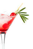 Christmas martiny cocktail Royalty Free Stock Photos