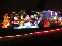 Christmas in the Maryland Suburbs Royalty Free Stock Photography
