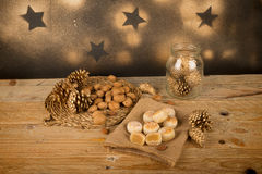 Christmas marzipan Royalty Free Stock Photography