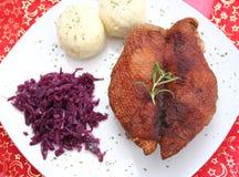 Christmas meal Stock Image