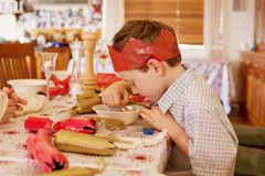 Christmas Meal Royalty Free Stock Images