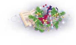 Christmas melody Royalty Free Stock Images