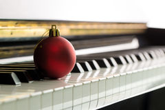 Christmas melody Stock Image