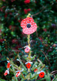 Christmas Memorial Tree Royalty Free Stock Images
