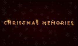 Christmas Memories. Royalty Free Stock Photography