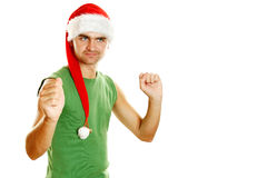 Christmas men Royalty Free Stock Photography