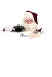 Christmas menu. Template to make your own Christmas menu Royalty Free Stock Images