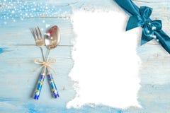 Christmas menu  background Royalty Free Stock Photo