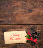 Christmas menu Royalty Free Stock Image