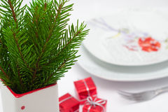 Christmas menu concept Royalty Free Stock Photo
