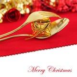 Christmas menu royalty free stock photography