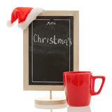 Christmas menu isolated Stock Images