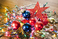 Christmas mess Royalty Free Stock Photo