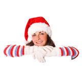 Christmas message Royalty Free Stock Photos