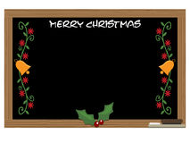 Christmas message board Royalty Free Stock Photography
