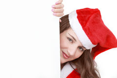 Christmas Message-Board Royalty Free Stock Photo