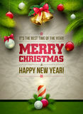 Christmas Message Board Stock Images