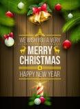 Christmas Message board Stock Image