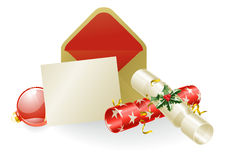 Christmas message concept Royalty Free Stock Image