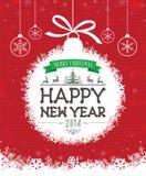 Christmas Message Design Stock Photos