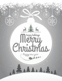 Christmas Message Design Stock Photo