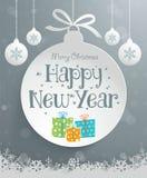 Christmas Message Design Stock Photography