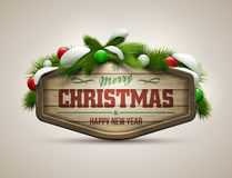 Christmas Message Royalty Free Stock Photography