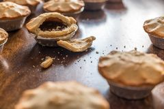 Christmas mince Pie close-up Royalty Free Stock Photo