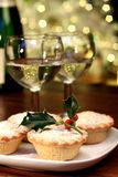 Christmas mince-pie Royalty Free Stock Images