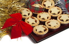Christmas Mince Pies Stock Photos