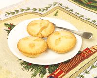 Christmas mince pies Royalty Free Stock Photography