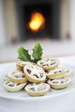 Christmas Mince Pies Stock Photography