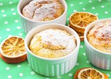 Christmas mini cakes. With cinnamon and orange zest Stock Image