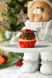 Christmas mini muffin Stock Photography