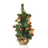 Christmas Mini Tree Royalty Free Stock Images