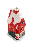 Christmas miniature house royalty free stock photo