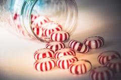 Christmas mints photograph Stock Photography