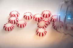 Christmas mints photograph Royalty Free Stock Photography